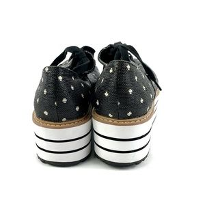 Zara Shoes - Zara Polka Dot Platform Derby Shoes